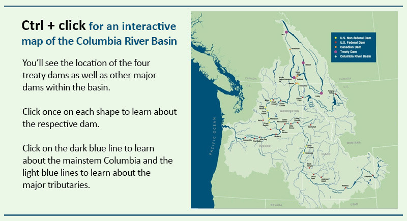 A New Columbia River Treaty Columbia Insight - Columbia-river-map-us